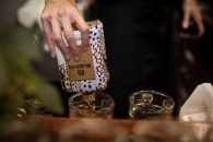 Disaronno x Roberto Cavalli Limited Edition Bottle disaronno wears cavalli launch