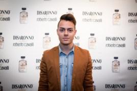 Sebastian Guarin at Disaronno x Roberto Cavalli Limited Edition Bottle disaronno wears cavalli launch