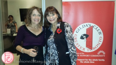 gilda's club of greater toronto Jeanne Beker & Friends Open Their Hearts & Closets charity sale