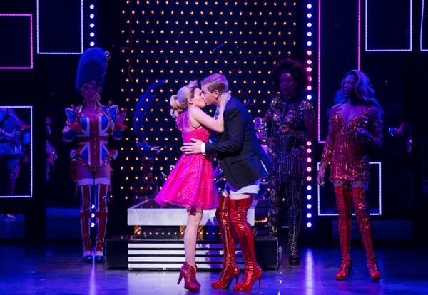 Kinky Boots lauren kissing charlie