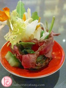 miku restaurant toronto aburi beef carpaccio