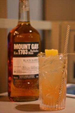 Moun gay rum Black Barrel Bridgetown Sour