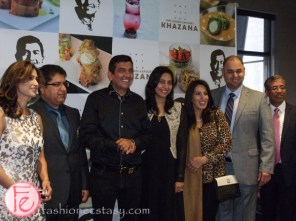 Sanjeev Kapoor and his support team