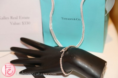 tiffany bracelet silver ball 2015 in support of providence healthcare