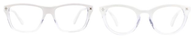 clearly eyewear icy frames