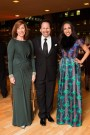 Centre Stage co-chair Helen Burstyn, Barry Avrich (Partner at BT:A Advertising) and Amy Burstyn Fritz (Partner at The Knot Group)