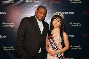 Anastasia Lin and Butch Carter