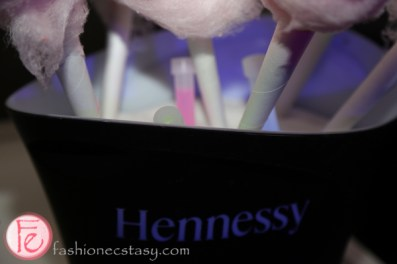 cotton candy with glow stick at hennessy vs ryan mcginness launch party toronto