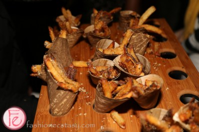 fries cones at media profile party 2015