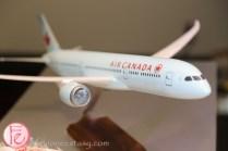 air canada plane toy