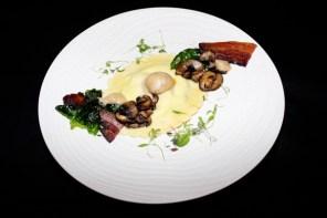 entice culinary lounge toronto carbonara ravioli