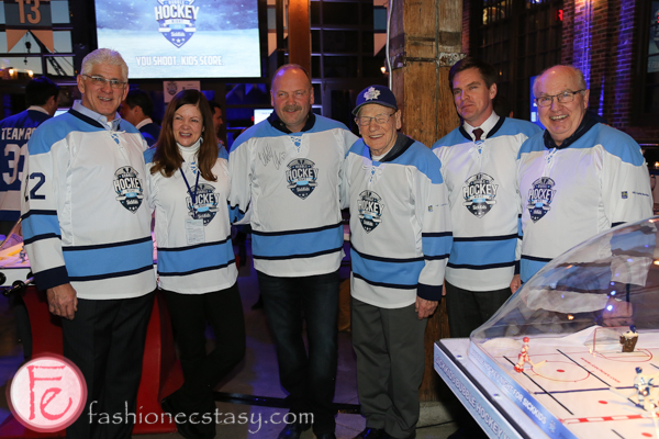 sickkids bubble hockey night 2016 nhl alumni