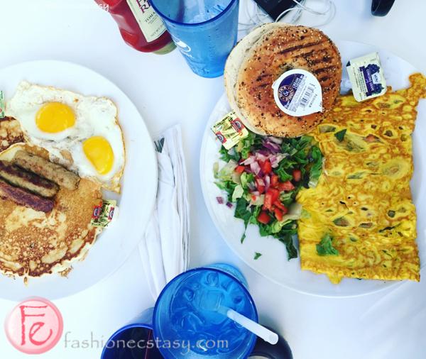 St. Barts Café breakfast