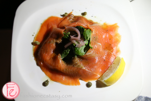 toula restaurant westin harbour smoked salmon
