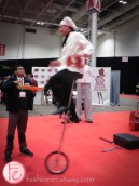 chef on a unicycle