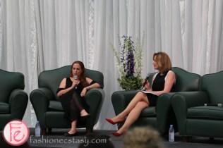 Dr. Yifat Merbl and Dianne Buckner wonderful women weizmann canada