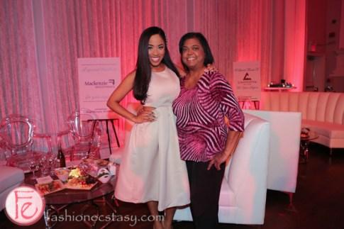 regent park gala 2016 Patricia Jaggernauth and mom