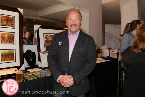 Wendel Clark at regent park gala 2016
