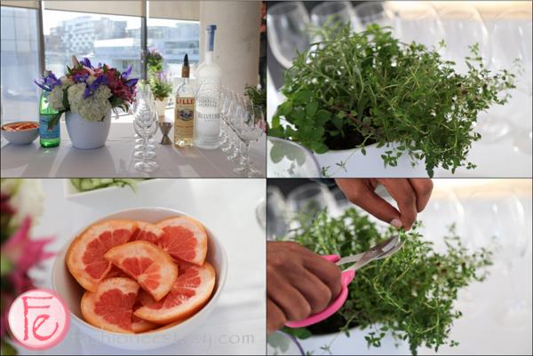 Belvedere Spritz ingredients