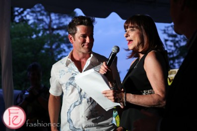 Yannick Bisson and Jeanne Beker moonlight gala 2016