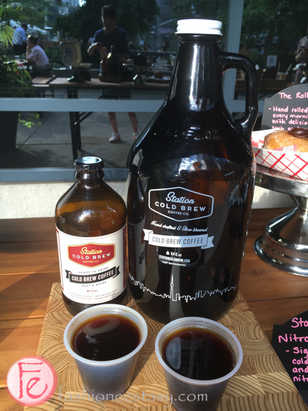 Station Cold Brew front street foods