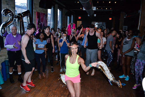 DAYBREAKER TORONTO: dance dance resolution 2017 morning event