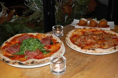 Neapolitan pizza Lambretta Pizzeria toronto