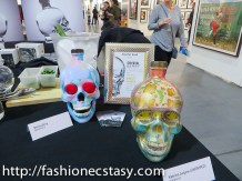 Crystal Head Vodka the artist project opening night event