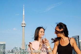 Lavelle Toronto rooftop patio - le Jardin!