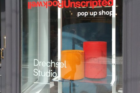 Rockwell Unscripted for Knoll Furniture Preview Party Drechsel Studio‏