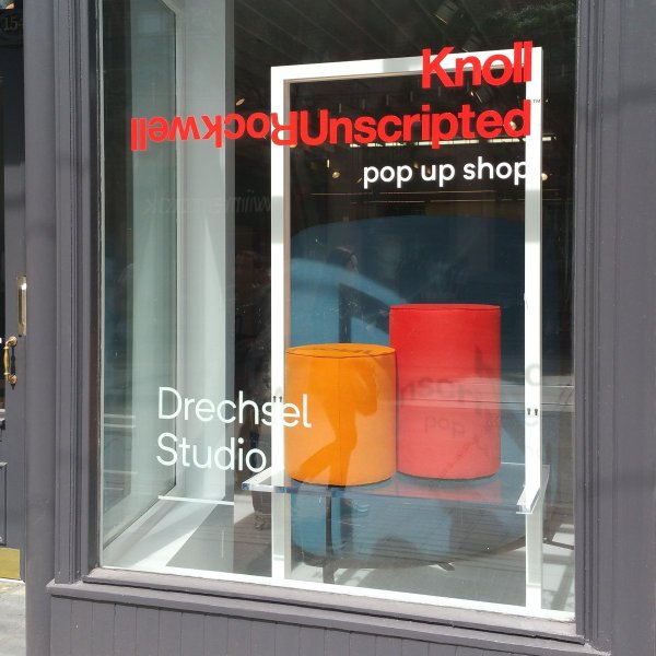 Rockwell Unscripted for Knoll Furniture Preview Party Drechsel Studio