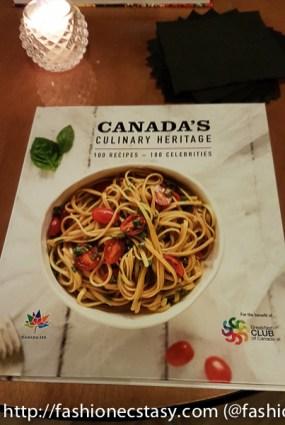 Canada's Culinary Heritage Cookbook