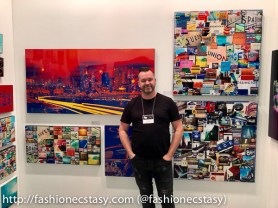 Jeff Turner Art at therapist project 2018 openingparty
