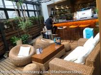 台北奎咖啡 露天座位(Quays Cafe Taipei patio)