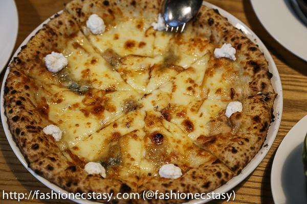 八種綜合乳酪披薩 OTTO FORMAGGI PIZZA trattoria di primo