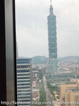 W Hotel 台北101景觀