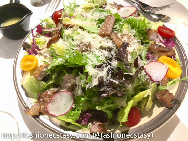 bagel bagel 伊比力豬頸肉蜂蜜檸檬油醋沙拉 Iberian Pork Neck Salad with Honey Lemon Vinaigrette Dressing