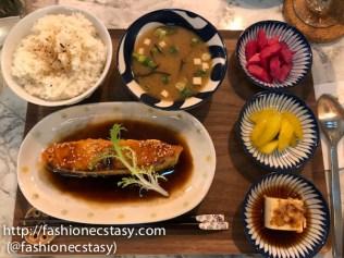 新竹福華飯店 Hovii Cafe鮭魚定食
