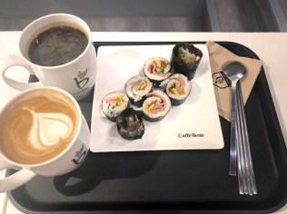 caffe bene korean kimbap韓式壽司