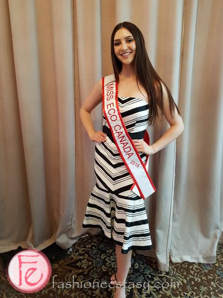 Miss Eco Canada 2018 - Sasha Lombardi
