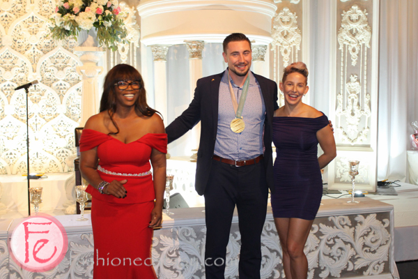 pink diamond gala Alicia Vianga and Alexander Kopacz