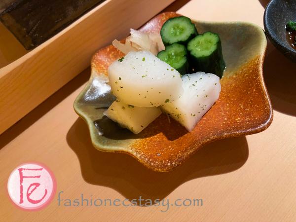 澤物小菜(漬け物) (pickled veggies)