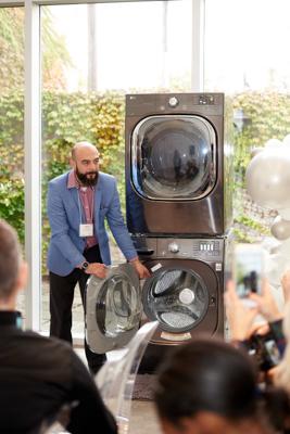LG Styler and washing machine