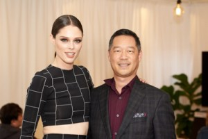 Coco Rocha and David Oyagi