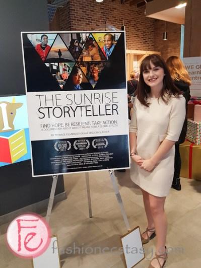 Kasha Sequoia Slavner's documentary The Sunrise Storyteller Pr