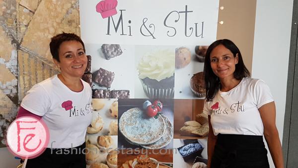 Mi & Stu sweets with Mi & Stu