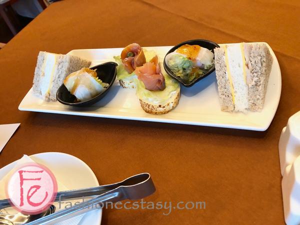 台北神旺商務酒店下午茶鹹點 San Want Hotel Taipei Residences afternoon tea