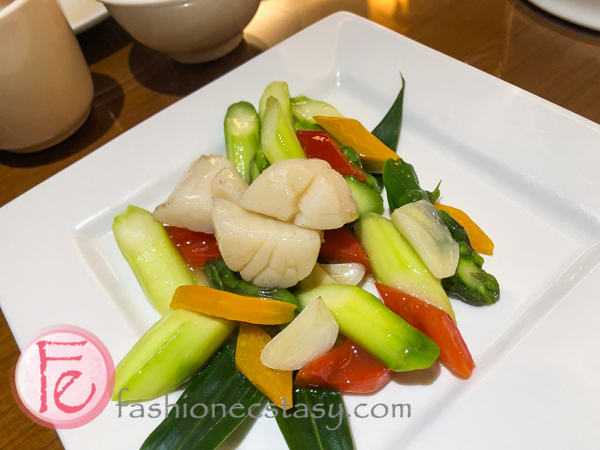 翠綠鮮帶子 (Stir Fry Vegetable with Scallop)