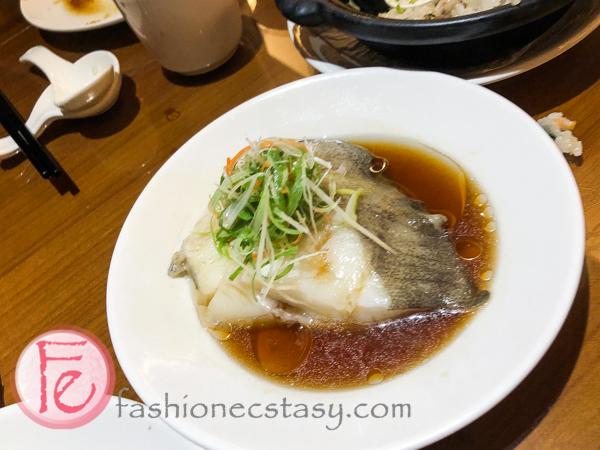 蔥油蒸鱈魚 (Steamed Codfish with Scallions)