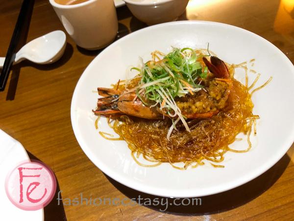 金蒜銀絲蒸蝦(蒜泥蒸草蝦)/ Steamed Garlic Prawns with Vermicelli Noodles
